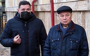 Анатолий Артамонов посетил объекты социальной сферы Кисловодска иоценил ход работ поблагоустройству города-курорта