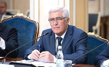 Заседание Комиссии посотрудничеству Совета Федерации иМаджлиси мили Маджлиси Оли Республики Таджикистан