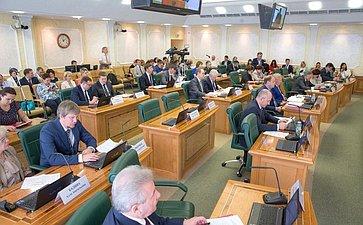 Расширенное заседание Комитета СФ поконституционному законодательству игосударственному строительству врамках Дней ХМАО-Югры вСФ