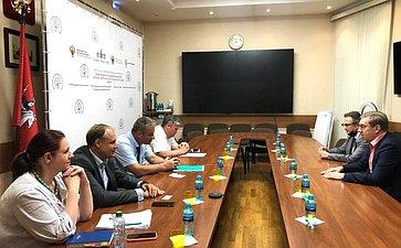 Алексей Майоров провел совещание повопросам обеспечения защиты прав потребителей исанитарно-эпидемиологического благополучия граждан