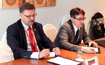 Участие делегации Совета Федерации на25-й сессии АТПФ