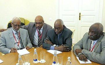 Делегация Судана