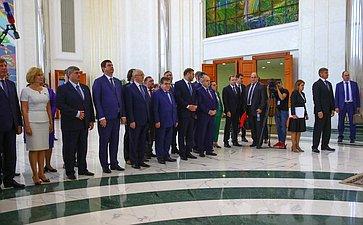 Делегация Совета Федерации вУзбекистане