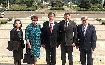 Визит делегации Комитета Совета Федерации побюджету ифинансовым рынкам вРеспублику Корея