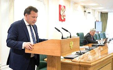 Заседание Совета позаконодательному обеспечению оборонно-промышленного комплекса ивоенно-технического сотрудничества
