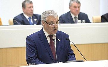 Председатель госсобрания Мордовии В. Чибиркин