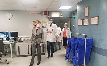 Инна Святенко встретилась сакадемиком РАН, заслуженным врачом России, Президентом АО «Медицина», Григорием Ройтбергом