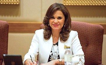 Встреча Председателя Совета Федерации сПредседателем Латиноамериканского парламента Бланкой Алкала