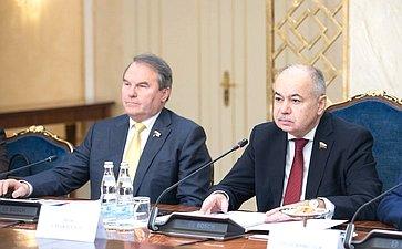 Встреча И. Умаханова спервым заместителем Председателя Верхней палаты Национальной ассамблеи Исламской Республики Афганистан Мохаммадом Аламом Изедъяром