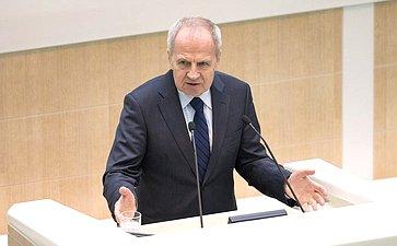 Председатель Конституционного суда В. Зорькин
