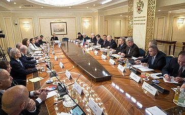 Совместное заседание Комитета СФ помеждународным делам, Комитета СФ пообороне ибезопасности иКомиссии поиностранным делам ибезопасности Кнессета Израиля