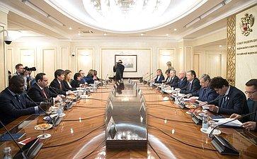 Встреча сделегацией Международного бюро выставок попроведению ЭКСПО-25