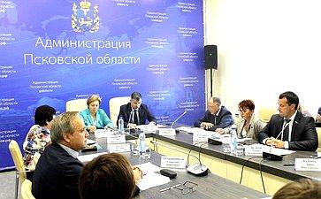 Выездное заседание Экспертного совета иПалаты молодых законодателей при СФ