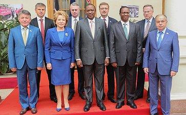 Официальный визит Председателя Совета Федерации В. Матвиенко вРеспублику Кению