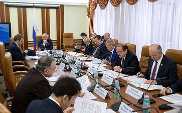 Заседание Комитета СФ поконституционному законодательству игосстроительству