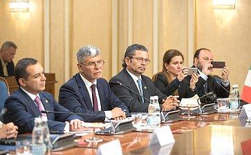 Встреча В. Матвиенко сПредседателем Палаты сенаторов Генерального конгресса Мексики