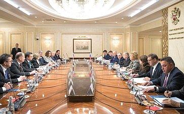 Председатель СФ В. Матвиенко провела встречу сПредседателем Национального совета Словакии А.Данко