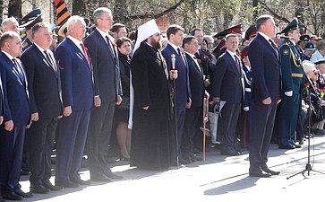 ВВологде прошли торжественные мероприятия, посвященные 73-й годовщине соДня Победы