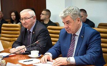 Встреча В.Бондарева спредседателем Комитета пообороне ибезопасности Национального совета Словацкой Республики Антоном Грнко