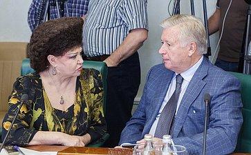 В. Петренко и К. Титов Заседание Комитета общественной поддержки жителей Юго-Востока Украины