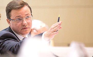Заседание Совета поместному самоуправлению при Совете Федерации натему «Благоустройство территорий населенных пунктов: проблемы ипути их решения»