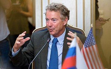 Член Сената Конгресса США отРеспубликанской партии Ренд Пол