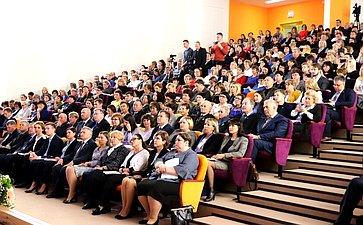 IV Всероссийский съезд учителей сельских школ «Сельская школа как фактор развития сельских территорий»