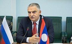 Россия рассматривает Лаос вкачестве важного партнера— Е. Тарло