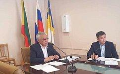 Б. Жамсуев: Забайкалье иВосточный аймак Монголии создадут рабочую группу повопросам приграничного сотрудничества