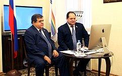 Сенаторы отЕАО провели прием граждан врежиме телемоста
