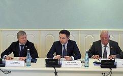 Реализацию индивидуальной программы социально-экономического развития Республики Адыгея обсудили вМайкопе сенаторы РФ