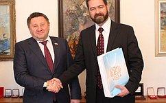 М. Пономарев: Переезд ВС иВАС вСанкт-Петербург повысит эффективность судебной системы