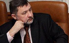 Вячеслав Шверикас: «Основным приоритетом для стран СНГ должны стать модернизация экономики иновые совместные проекты»