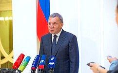 Ю. Борисов рассказал сенаторам осостоянии иперспективах развития оборонно-промышленного комплекса Российской Федерации