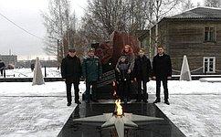 Игорь Зубарев принял участие вчествовании детей-героев