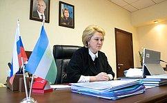 Л. Гумерова: Наработки Республики Башкортостан поорганизации обучения ивнешкольной деятельности вонлайн-режиме будут учтены вработе Комитета СФ