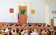 В.Тимченко принял участие вобластном собрании педагогических коллективов Кировской области