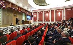 В.Матвиенко приняла участие вторжественном собрании, посвященном 95-летию Верховного Суда