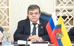 В. Джабаров: ВРоссии настроены наплодотворный диалог спарламентариями Эквадора