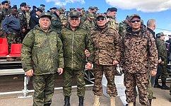 Б. Жамсуев принял участие вмероприятиях, связанных спроведением учений «Восток-2018» вЗабайкальском крае
