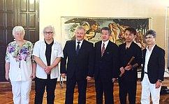 О. Тимофеева приняла участие вовстрече сделегацией изЯпонии, посетившей Севастополь врамках двустороннего культурного проекта