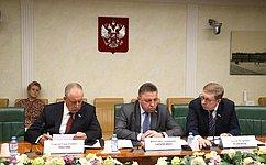 В. Тимченко провел заседание Временной комиссии СФ посовершенствованию правового регулирования всфере государственного контроля (надзора) имуниципального контроля вРФ