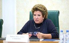 Л. Глебова: ВПослании Президента РФ обращено внимание насамую главную проблему— сбережение народа