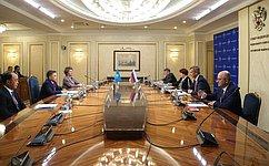 А.Яцкин: Совместная работа вформате российско-казахстанской межпарламентской комиссии имеет большой практический потенциал