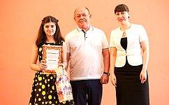 ВАстраханской области активно поддерживают детские таланты— Г.Орденов