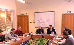 Ю.Воробьев провел рабочее совещание вдетском образовательном центре «Корабелы Прионежья»