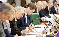Члены СФ обсудили изменения взаконодательство повопросам обеспечения транспортной безопасности