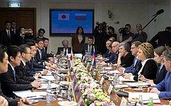 В.Матвиенко: В2016году произошла смена магистрального вектора развития отношений России иЯпонии