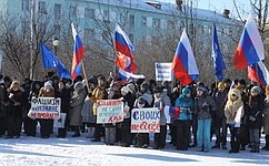 А. Отке: Жители Чукотки выступают вподдержку регионов Украины