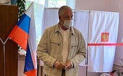 С. Митин принял участие вобщероссийском голосовании повопросу одобрения изменений вКонституцию РФ